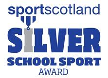 SportScotland Silver School Sport Award Icon